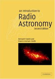 Cover of: An introduction to radio astronomy