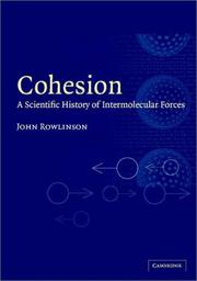 Cover of: Cohesion