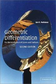 Cover of: Geometric differentiation