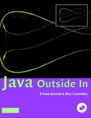 Cover of: Java Outside In | Ethan D. Bolker