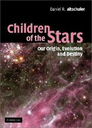 Cover of: Children of the Stars | Daniel R. Altschuler