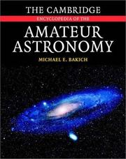 Cover of: The Cambridge Encyclopedia of Amateur Astronomy
