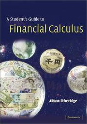 Cover of: A Course in Financial Calculus | Alison Etheridge