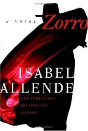 Cover of: Zorro: a novel
