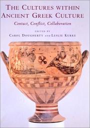 Cover of: The cultures within ancient Greek culture |