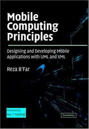 Mobile computing principles by Reza B'Far
