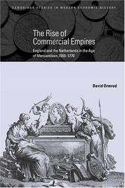 Cover of: The Rise of Commercial Empires | David Ormrod
