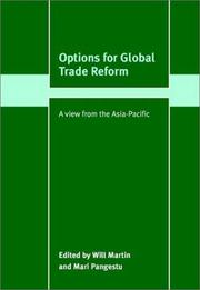 Cover of: Options for global trade reform by