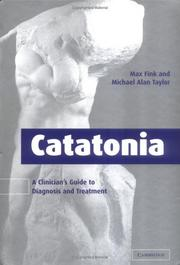 Cover of: Catatonia | Max Fink
