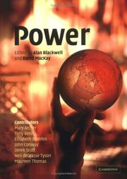 Cover of: Power |