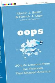 Cover of: Oops | Martin J. Smith