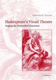 Cover of: Shakespeare's visual theatre