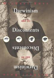 Cover of: Darwinism and its discontents