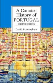 Cover of: A concise history of Portugal