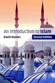 Cover of: introduction to Islam | David Waines