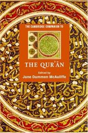 Cover of: The Cambridge Companion to the Qur
