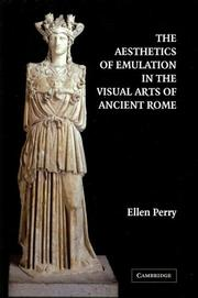 Cover of: The Aesthetics of Emulation in the Visual Arts of Ancient Rome