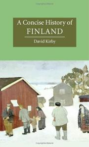Cover of: A Concise History of Finland (Cambridge Concise Histories) by David Kirby