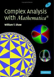 Cover of: Complex Analysis with MATHEMATICA®