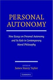 Cover of: Personal Autonomy | James Stacey Taylor