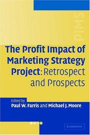 The Profit Impact of Marketing Strategy Project by