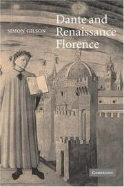 Cover of: Dante and Renaissance Florence