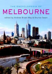 Cover of: The encyclopedia of Melbourne |