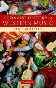 Cover of: A concise history of western music