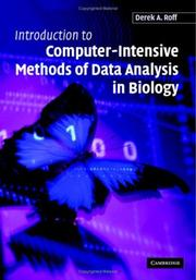 Cover of: Introduction to Computer-Intensive Methods of Data Analysis in Biology | Derek A. Roff