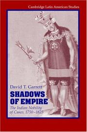 Cover of: Shadows of Empire | David T. Garrett