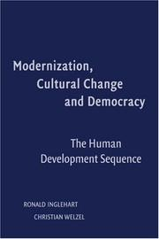 Cover of: Modernization, cultural change, and democracy
