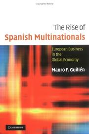 Cover of: The Rise of Spanish Multinationals | Mauro GuillГ©n