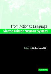 Cover of: Action to Language via the Mirror Neuron System