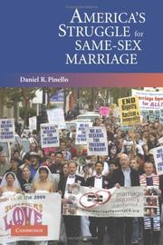 Cover of: America's struggle for same-sex marriage