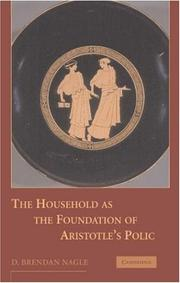 Cover of: The household as the foundation of Aristotle's polis