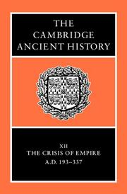 Cover of: The Cambridge Ancient History Set (The Cambridge Ancient History) | Various Authors