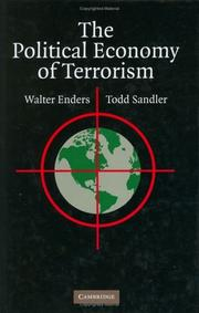Cover of: The political economy of terrorism