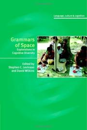 Cover of: Grammars of Space