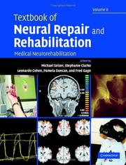 Cover of: Textbook of Neural Repair and Rehabilitation |