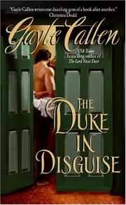 Cover of: The Duke in Disguise | Gayle Callen
