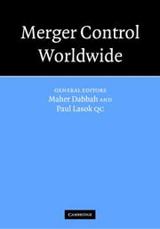 Cover of: Merger Control Worldwide 3 Volume Set (Merger Control Worldwide) |