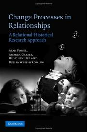 Cover of: Change Processes in Relationships: A Relational-Historical Research Approach