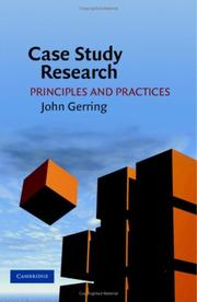 Cover of: Case Study Research | John Gerring