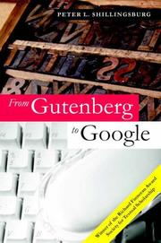 Cover of: From Gutenberg to Google