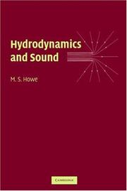 Cover of: Hydrodynamics and Sound | M. S. Howe