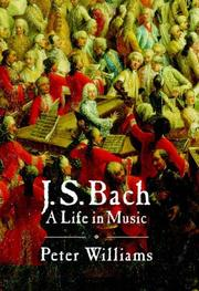 Cover of: J.S. Bach | Peter Williams