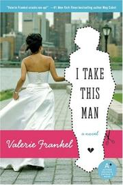 Cover of: I Take This Man