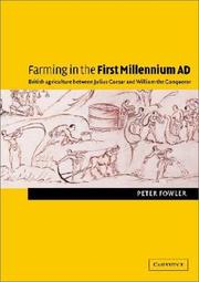 Cover of: Farming in the First Millennium AD | Peter Fowler