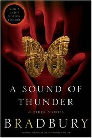 Cover of: A Sound of Thunder and Other Stories