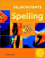 Cover of: Searchlights for Spelling Year 4 Pupil